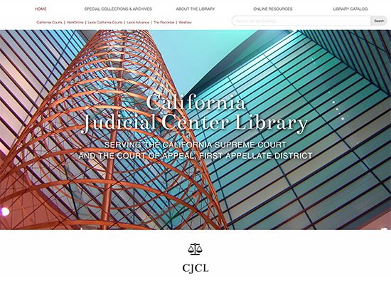 The California Judicial Center Library